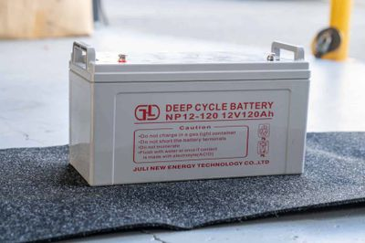 1x 120A/H Deep Cycle Battery