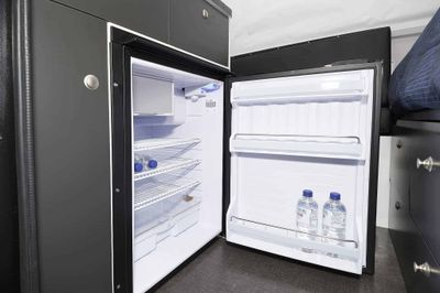 130L Bushman Single Door Upright Fridge/Freezer