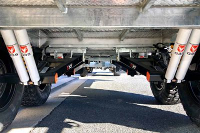 Tandem Axle: Cruisemaster XT Coil Spring Independent trailing arm suspension with 8 x shock absorbers and 12