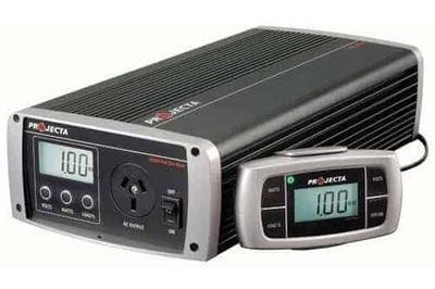 Projecta Inverter - 12v to 240v Pure Sine Wave 1000 watt - dedicated double power point