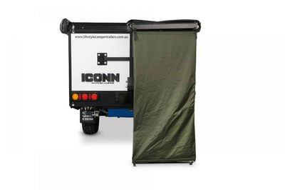 Bagged Ensuite Shower Tent