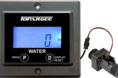 Tank water flow gauge - monitors water level