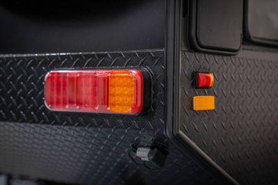 LED exterior tail & side marker lighting