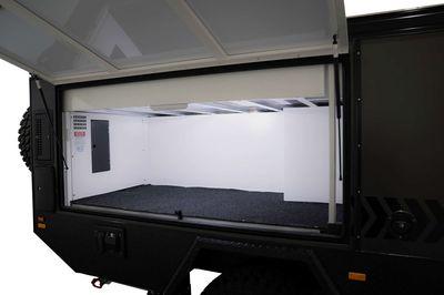 Multiple External Storage Areas