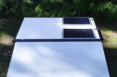 Additional 175w Roof Mounted Solar Panel