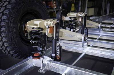 ATX 4.5T Coil Spring Trailing Arm Suspension With Extra Heavy Duty Shocks