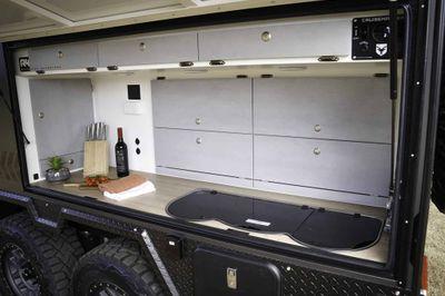 Unbelievable Exterior Deluxe Kitchen with huge storage