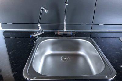 Separate plumbing, filter, 12v pump and tap