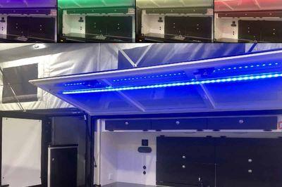 Colour adjustable LED strip light