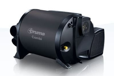 Truma combi 2E hot water system with space heating