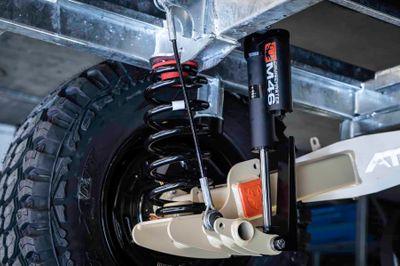 Cruisemaster ATX 2.8T Coil Spring Trailing Arm Suspension
