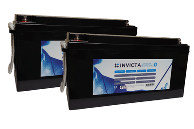 2nd 200amp hour Invicta lithium battery