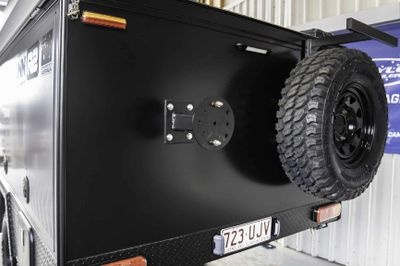 Additional Spare Wheel Mount - wheel and tyre not included