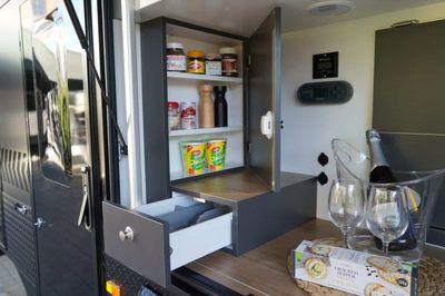 Spice rack cupboard