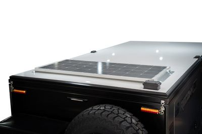 120W Roof Mounted Solar Panel