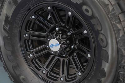 "16"" Mud Terrain Tyres and Alloy Wheels"